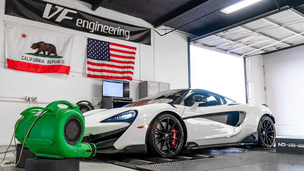 McLaren 600LT ECU Tuning Software