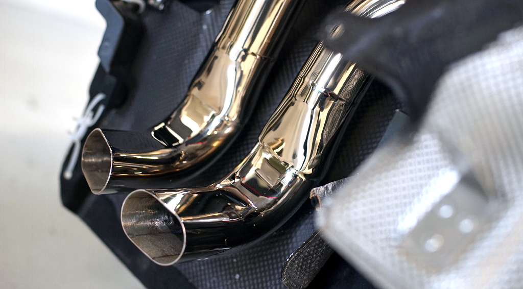 VF Race Exhaust - Audi R8 V10 Gen2