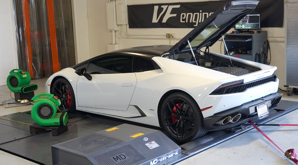 Lamborghini Huracan ECU Tuning Software (2015+)