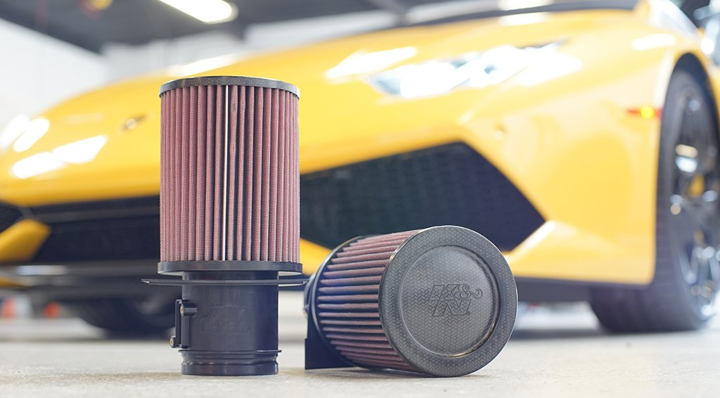 K&N Air filters for Lamborghini Huracan LP580/610