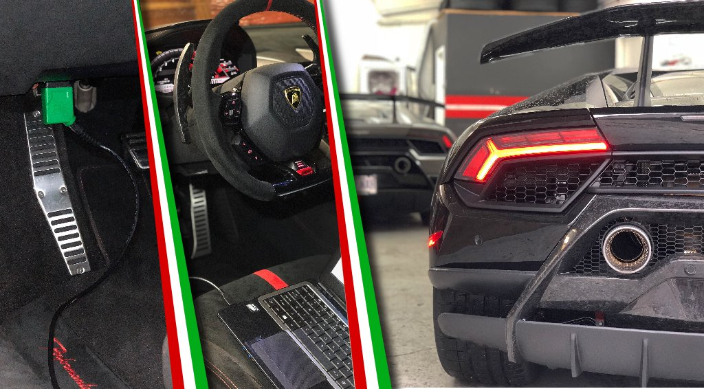 Lamborghini Huracan Performante ECU Tuning Software