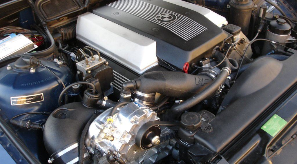 BMW (E38) 740i Supercharger System ('96-'03)