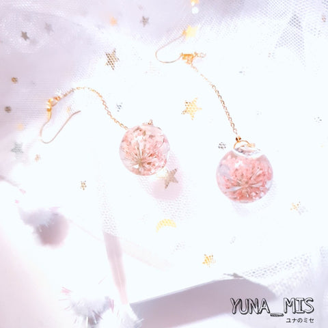 [Eternal Bloom] Baby's Breath Crystal (Sweet Pink)