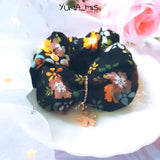 [Hair] 和式 Garden Scrunchie in Black