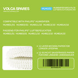 2 Pack Philips HU4102/01 Humidifier Filter, for HU4801 HU4803 HU4811 HU4813 HU4814-Volca Spares