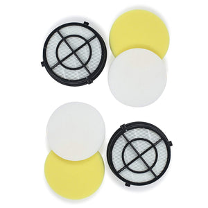 Style 16871 Filter Set for Bissell Pet Hair Eraser Upright Vacuum 1608861, 1608860 & 1650 Series-Volca Spares