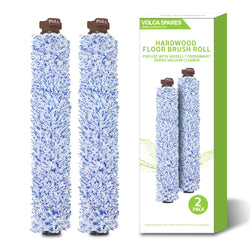 2 Pack Style 1926 Hardwood Floor Brush Roll for Bissell CrossWave Vacuums, OEM Part # 1608022 & 160-8022
