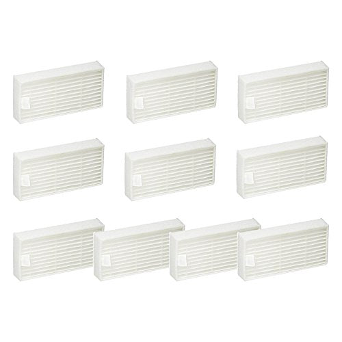 10 Pack Hepa Filter Compatible with ILIFE V3s V3s pro, V5, and V5s V5s pro Robot Vacuum-Volca Spares
