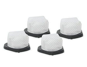 4 Pack Dust Cup Filters Compatible with Shark Pet-Perfect II Cordless Hand Vacuum SV780 and SV769, OEM Part # XF769-Volca Spares