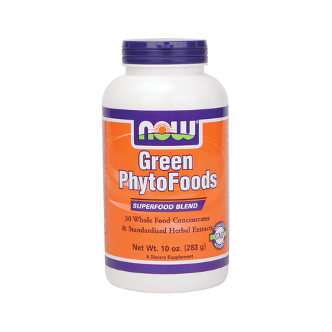 NOW Foods Green PhytoFoods 30 mix Superfood Blend - Polvere per la pelle luminosa e la massima salute