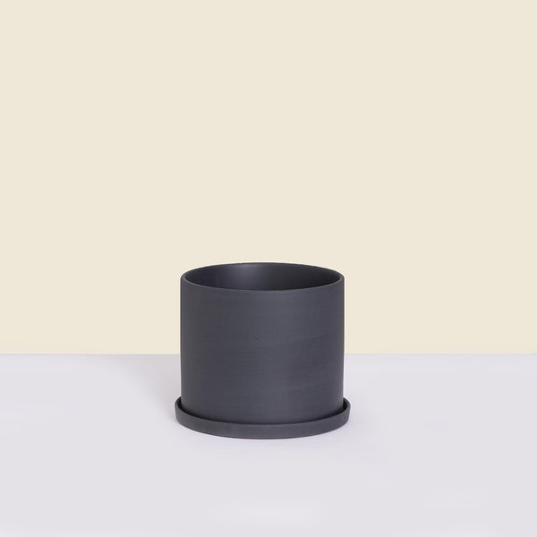 Small Charcoal Pot with Saucer