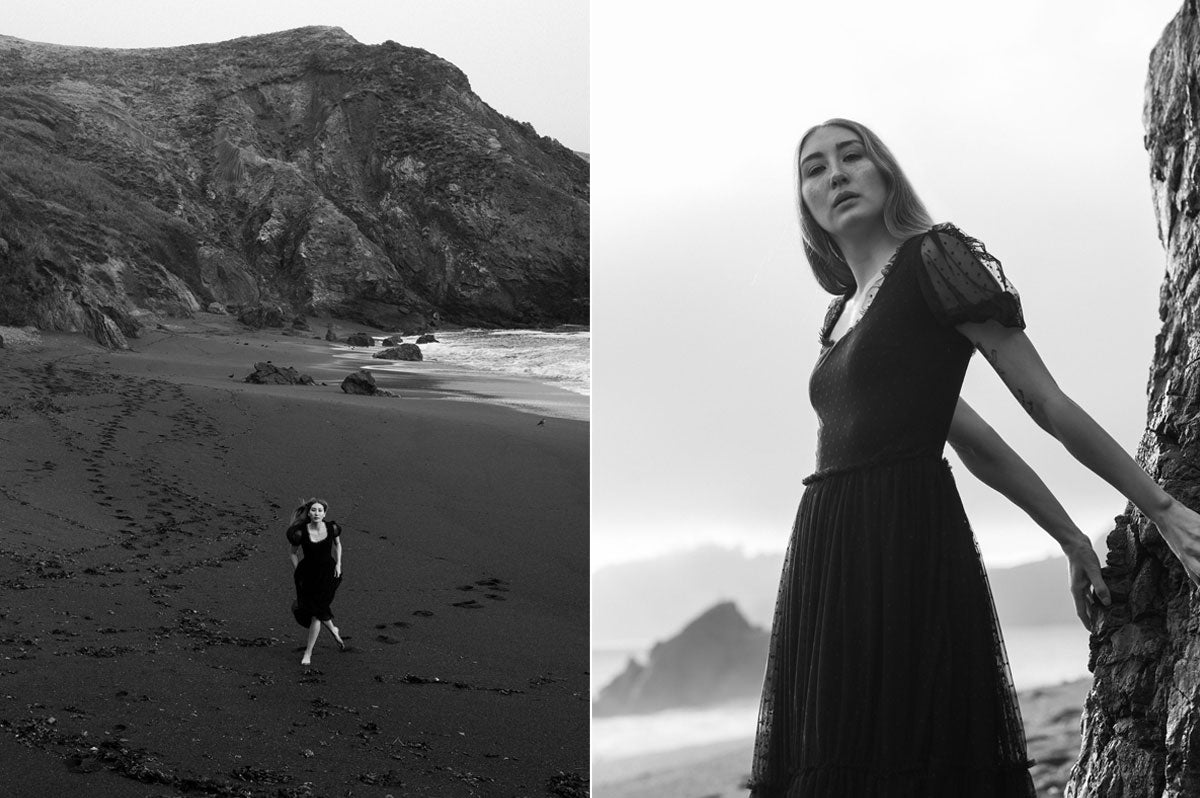 Alyssa Nicole 2020 Collection. Simple luxury cotton dress. Sustainable Luxury Dresses designed by Alyssa Nicole. Feminine, Ethereal, & Chic. Handcrafted in California· Made to Measure Apparel · Sustainably Sourced · Free Shipping