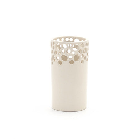 Lawrence McRae Lacey Vase #6 in White