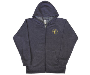 Youth Zip-Up - Midnight Navy