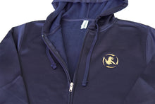 Load image into Gallery viewer, Poly Tech Zip-Up Jacket Navy/Gold