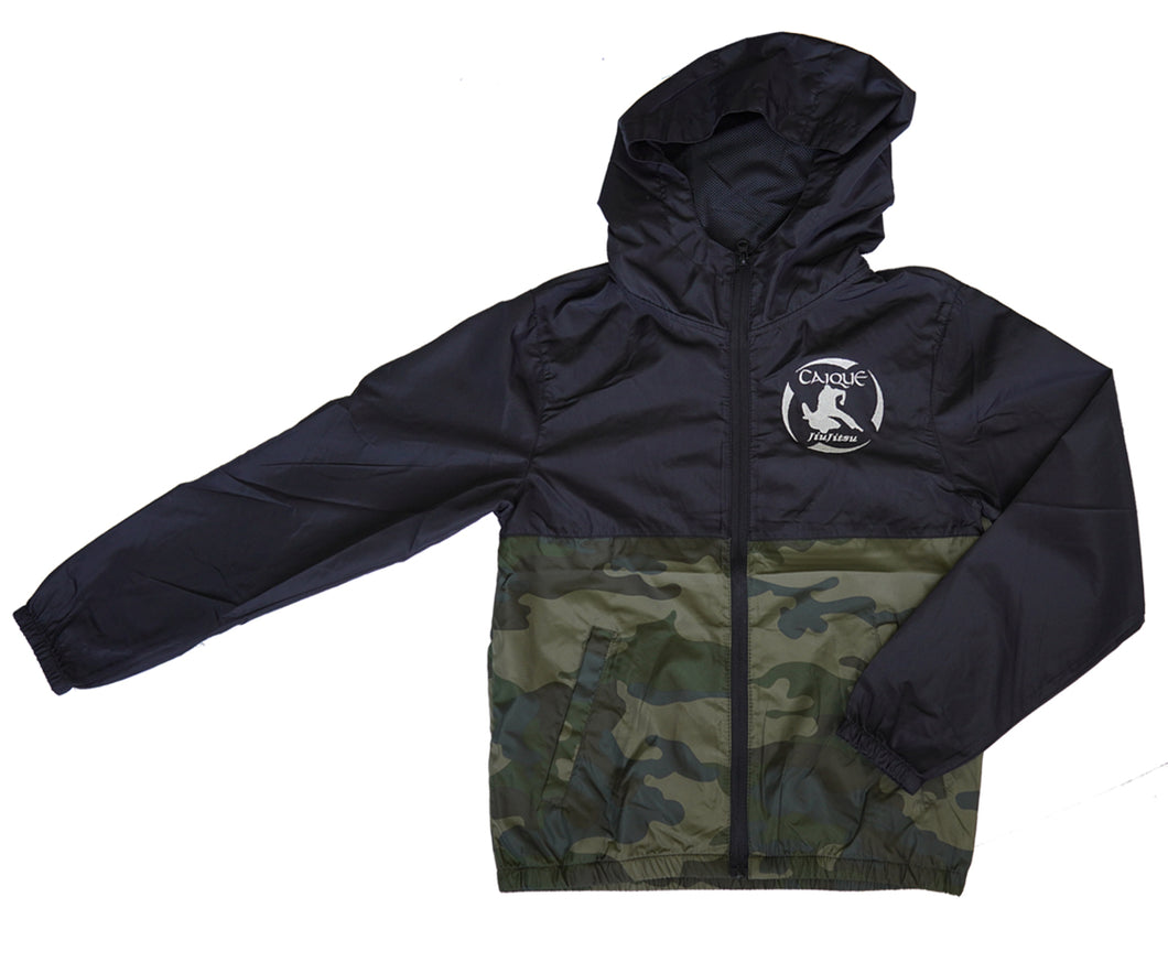 Camo Lightweight Windbreaker - Youth