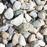 Pebble White Tumbled 20 - 40 mm