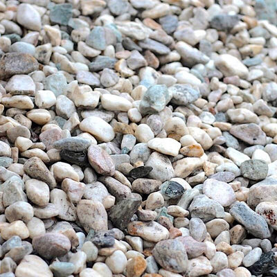 Pebble White Tumbled 20-40 mm