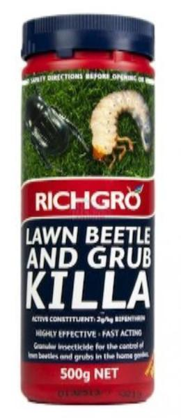 HW Richgro Lawn Beetle and Bug Killa 500g