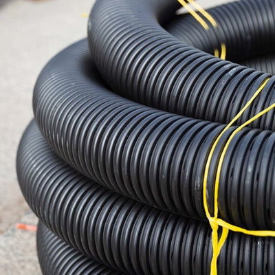 Aggi Pipe 100mm x 20m Drainage Supplies