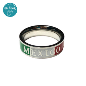 "México Ring ""I LOVE MEXICO-6"" - Anillo ""I LOVE MEXICO-6"" (6mm)"