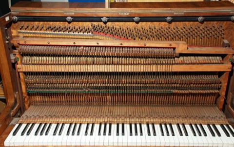 Birdcage piano action from Stairway Pianos
