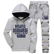 Load image into Gallery viewer, Winter Thick Warm Tracksuit Men 3 Piece Hooded Hoodies +Vest+Pant