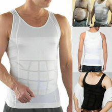 Load image into Gallery viewer, Men's Compression Shaping Sports Vest to Enhance The Body Solid Fitness Tanks