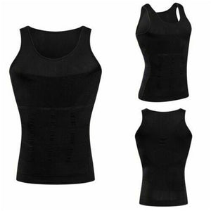 Men's Compression Shaping Sports Vest to Enhance The Body Solid Fitness Tanks