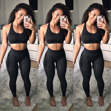 Load image into Gallery viewer, Seamless Women  High Waist Exercise Leggings
