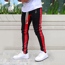 Load image into Gallery viewer, Men Sportswear Tracksuit Bottoms Skinny Sweatpants
