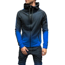 Load image into Gallery viewer, Autumn Casual Men 3D Gradient Sweatsuit Hoodies Sweatshirt  Slim Joggers Pants
