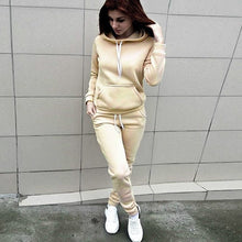 Load image into Gallery viewer, 2 Piece Set Women Hoodie Pants Printed Tracksuit