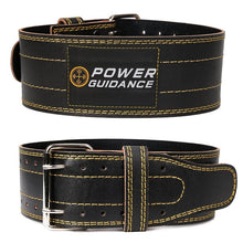 Load image into Gallery viewer, Genuine Leather Weightlifting Belt  Back Support