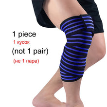 Load image into Gallery viewer, WorthWhile 1 PC Weightlifting Elastic Bandage Kneepad Protective Gear Knee Wraps Support Pad Brace