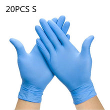 Load image into Gallery viewer, 50 Pieces Of Disposable Latex Thick Gloves  Medical Laboratory Latex