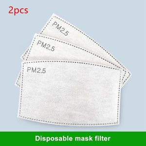 50pcs Disposable Protective Mask  Dust-proof Breathable   Health And Safty