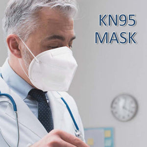 24 Hours Ship 10PCS KN95 Mask Anti Infection PM2.5 Anti-fog Respirator