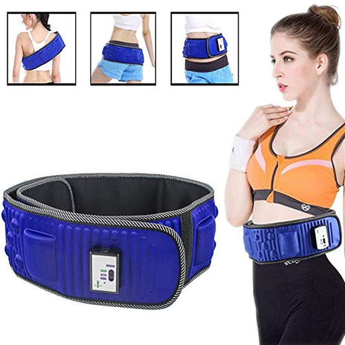 Slimming Belt X5 Times  Electric Vibration Fitness Massager Machine Burning Fat Abdominal Muscle Stimulator For Hip