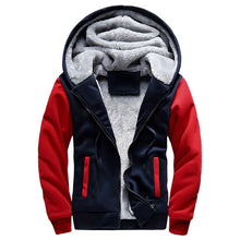 Load image into Gallery viewer, Bomber Jacket Men 2018 New Brand Winter Thick Warm Fleece Zipper Coat  European Hoodies