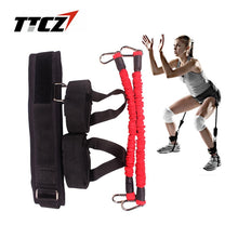 Load image into Gallery viewer, TTCZ Fitness Bounce Trainer Rope Resistance Band  Basketball Tennis Running Jump Leg Strength Agility Training Strap  equipment