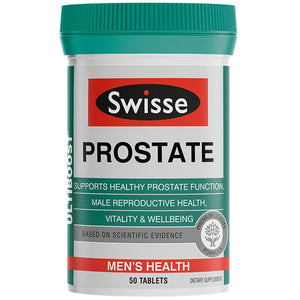 Swisse Prostate Urinary Tract Male Tonic Zinc Men Sexual Vigor Sperm Reproductive BPH Health Pills Dietary Supplement