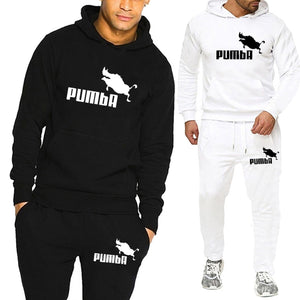 2 Pieces Sets Tracksuit Men Hooded Sweatshirt Pullover Hoodie+Pants  Ropa Hombre Casual Male Clothing Size S-4XL