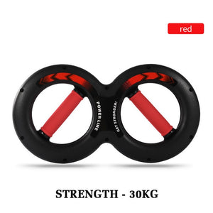 5-30kg 8-Word Chest Expander Power Wrist Device Workout Muscle Fitness Sports Equipment Gym Forearm Strength Force Exerciser