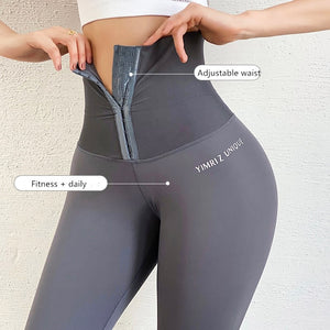 High waist tights ninth women yoga pants Fitness gym workout seamless sports leggings Black running activewear