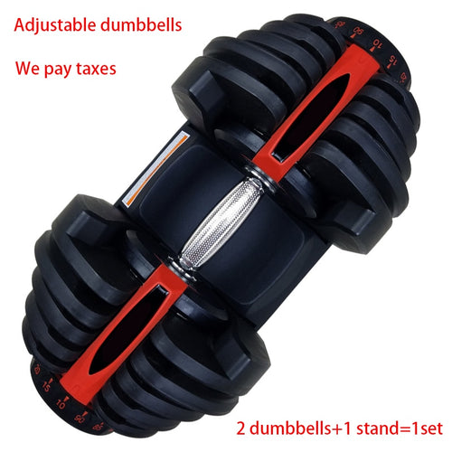 2021 New Style Exercise Weight Selection Dumbbell Home Fitness Equipment 40kg /90lbs Automatic Adjustable Fashion Dumbbell