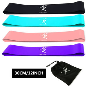 5PCs/Set Resistance Bands Latex Elastic Band Strength Training