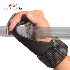 Hand Grips Gymnastics Gloves Fitness Power Weight Lifting Palm  Wrist Support