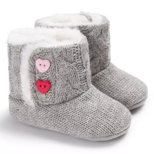 The Heart Sweater Boots
