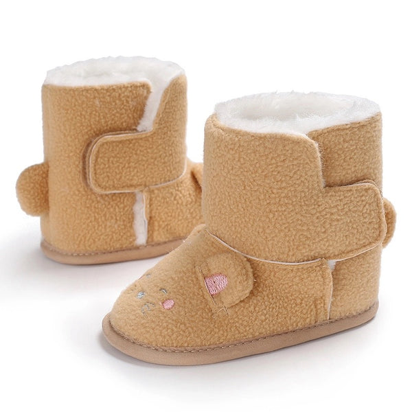 Kitty Cat Baby Girl Boots